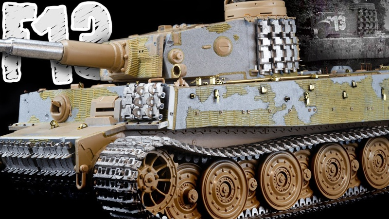 Let's Build a Hybrid Tiger F13 From April 1945 Tiger 1 Gruppe Fehrmann Rye Field Models 1 35