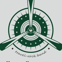 Логотип Зелёный Cамолёт / трэвэл-рок /