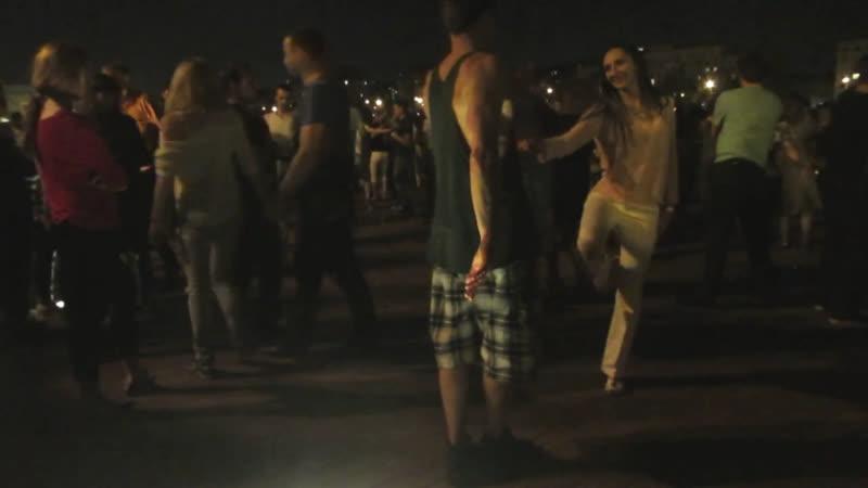 Танцы Опен Эйр Reload Парк Горького N183 25 09 2015