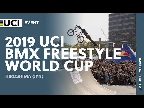 2019 UCI BMX Freestyle World Cup - Hiroshima (JPN) Round 1 - Men's Park Final