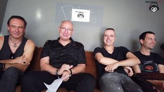 Interview Solar Fake und Zeraphine im Bi Nuu in Berlin am