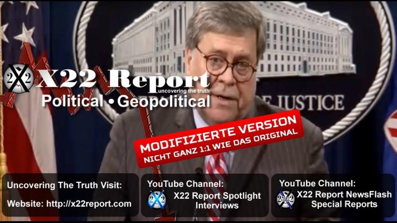 X22 Report vom 18 5 2020 FISA ist der Anfang Denke an Schach Wann greifst Du den König an