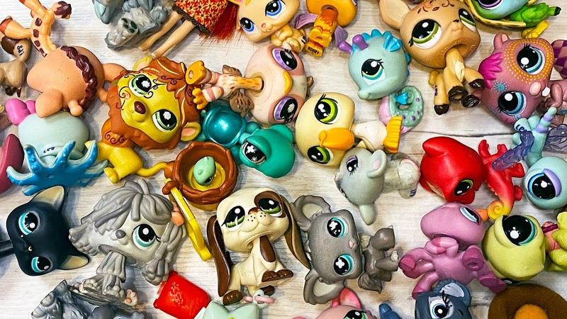 Все про все игрушки LPS Littlest Pet Shop старая коллекция