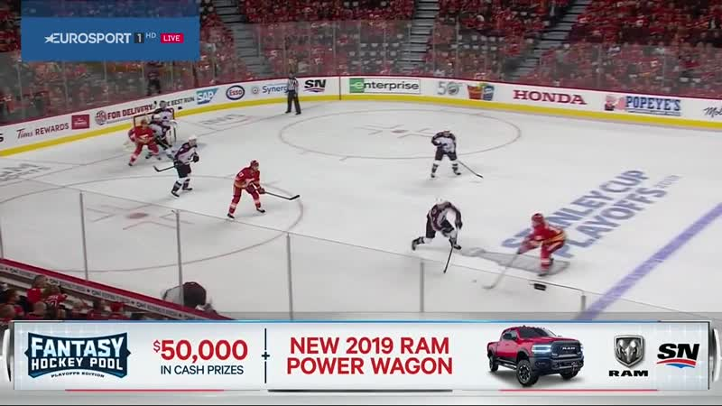NHL 18-19, SC, WC Round 1, Game 5. Colorado Avalanche - Calgary Flames. Eurosport. Rutracker.rog (1)-003