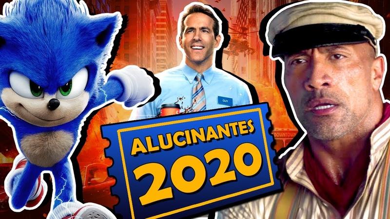 8 FILMES ALUCINANTES MAIS ESPERADOS DE 2020