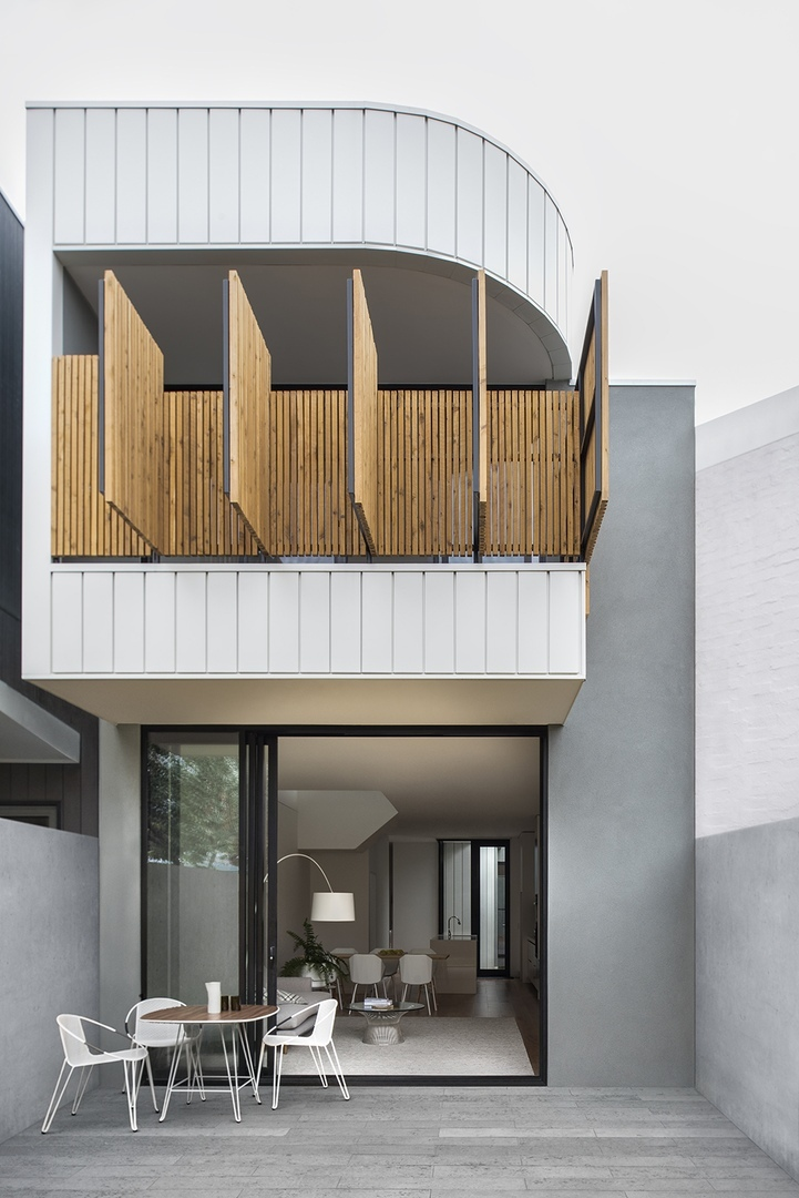 Port Melbourne House (211 м2) от команды Winter Architecture, Австралия.