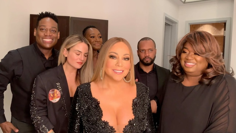 Mariah Carey Everything Fades Away Backstage Rehearsals with JoJo