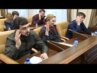 Иса Хаджимурадов - новый мэр города Грозного