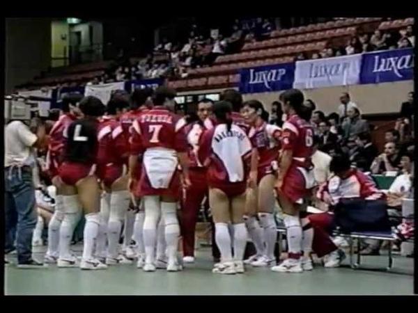 Volleyball Russia vs Japan 1996 World Grand Prix Sendai Part2 6