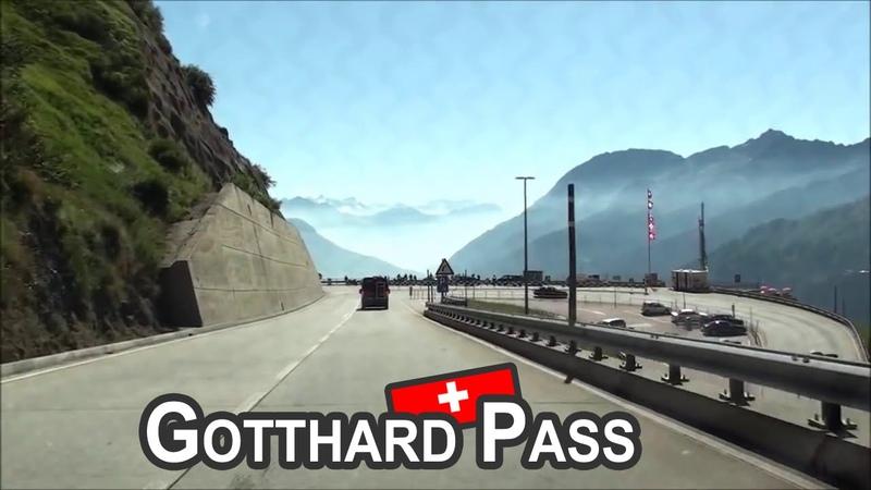 CH Gotthard Pass Passo del San Gottardo Versante Airolo 2012
