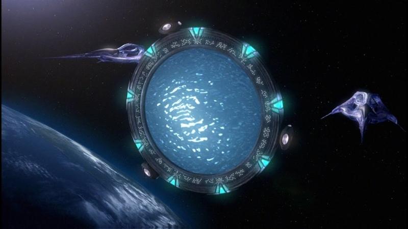 Видео сводит с ума Звездные врата открылись то что там увидели не поддается описанию
