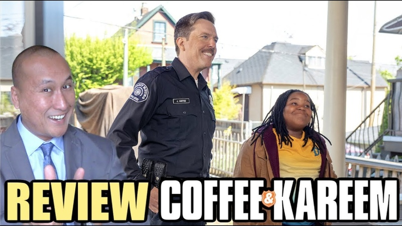 Movie Review Netflix 'COFFEE KAREEM' Starring Ed Helms Taraji P Henson