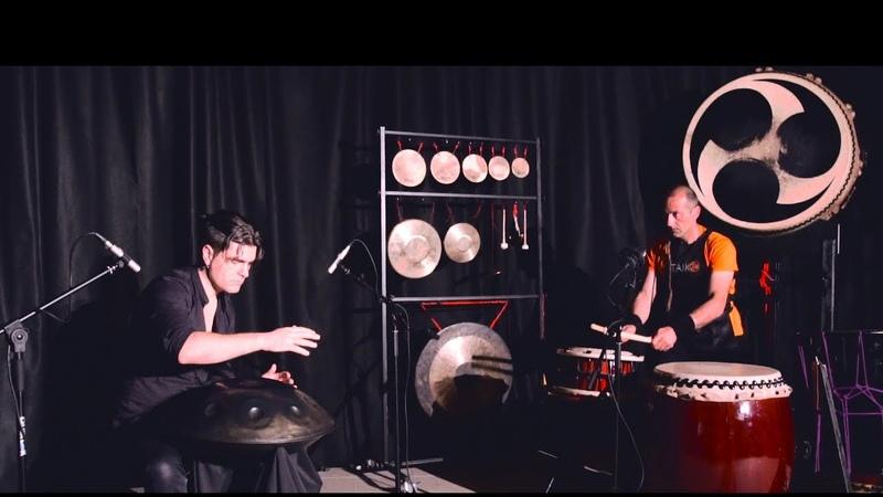 Handpan Taiko - Loris Lombardo and Piero Nota
