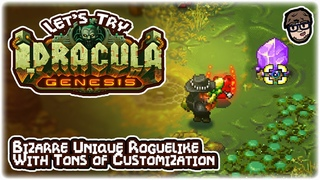 WILD HIGHLY CUSTOMIZABLE TWIN-STICK ROGUELIKE!! | Let's Try: I, Dracula: Genesis | Gameplay Preview