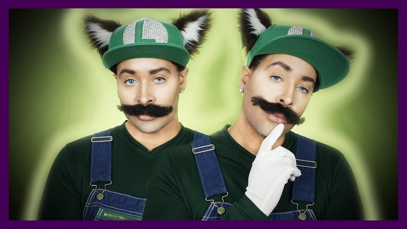 FOX LUIGI Cosplay Makeup Tutorial Alejandro