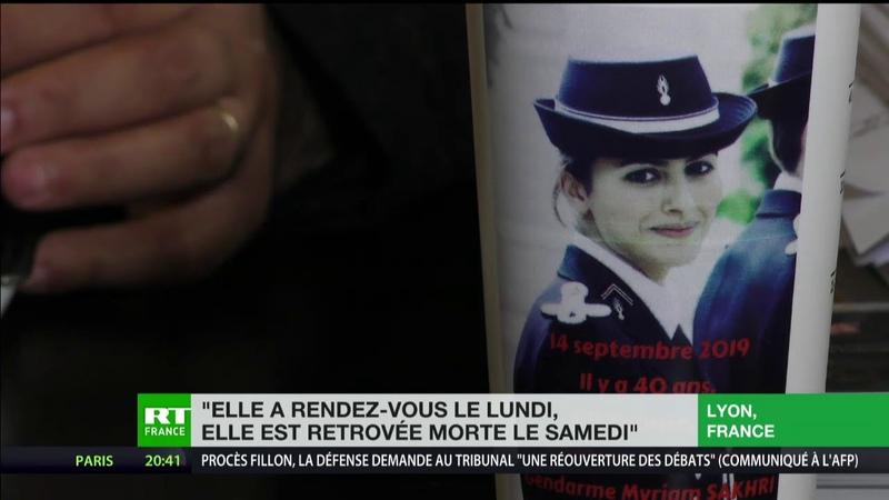 Le flou persiste autour de Myriam Sakhri une gendarme retrouvée morte en 2011