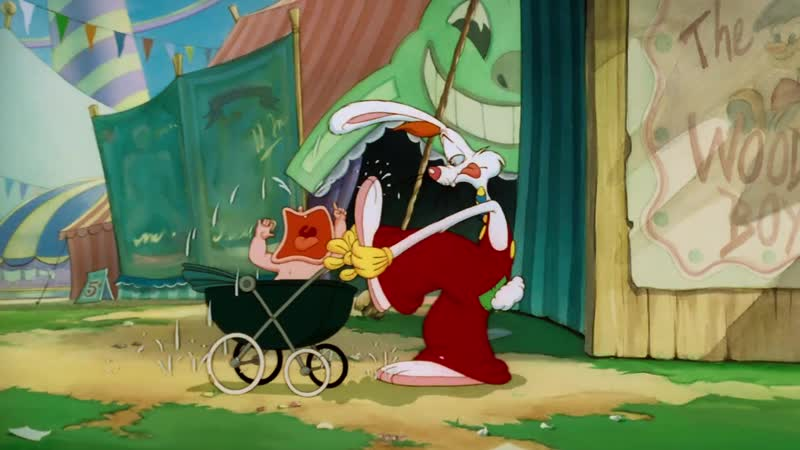 Кролик на американских горках 1990 Roller Coaster Rabbit