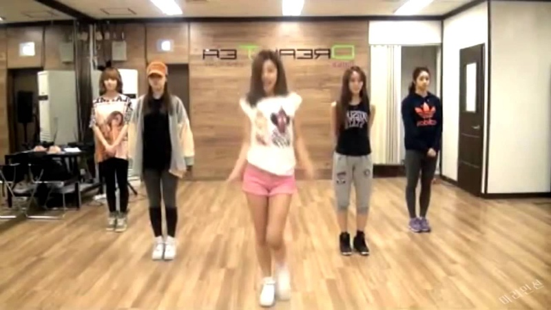 GIRL'S DAY уроки танцев от южнокорейских девушек
