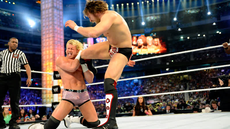 WWE Mania WrestleMania 29 Hell No vs Dolph Ziggler and Big E Langston Tag Team Championship