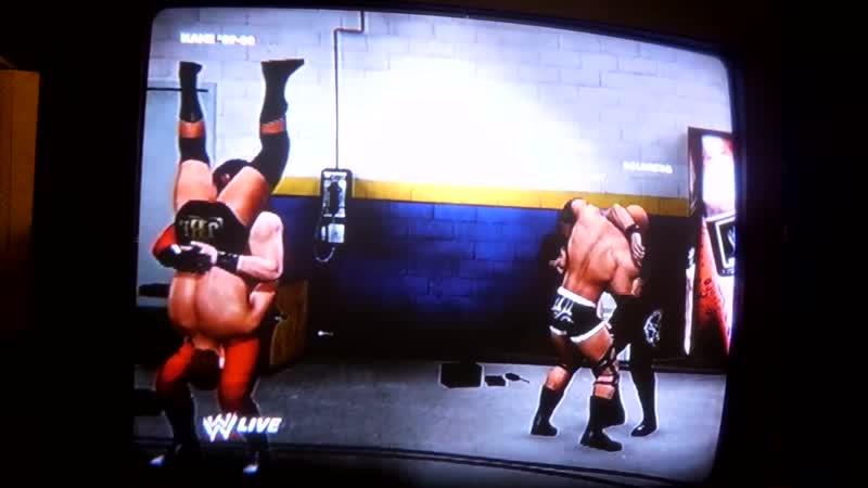 WWE 13 битвы против Goldberg and Hogan Kevin Nash Wolverine Undertaker Росомаха Хоган Голдберг 11DeadFace