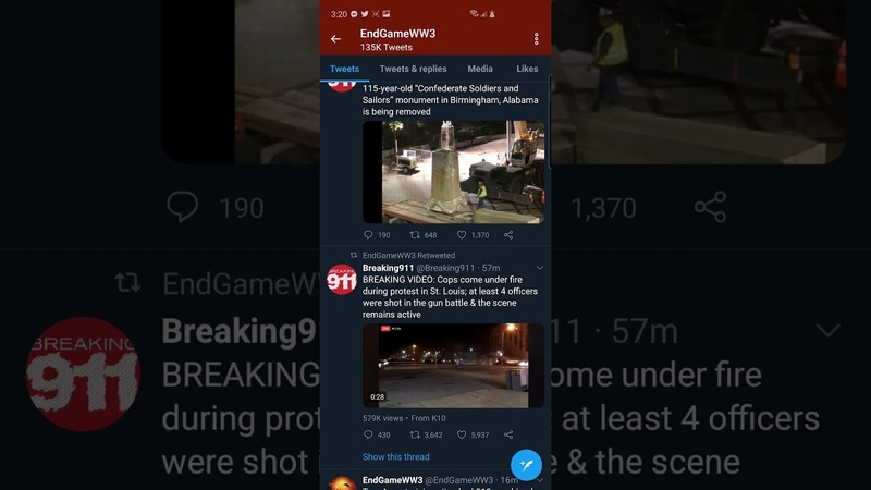 END TIMES: US MARSHALL KILLED IN LAS VEGAS 4 Officer s Shot In St Louis LIVE FOOTAGE