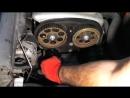 Opel Zafira Astra Corsa 1 6L Z16YNG Замена ремня ГРМ Replacing the belt
