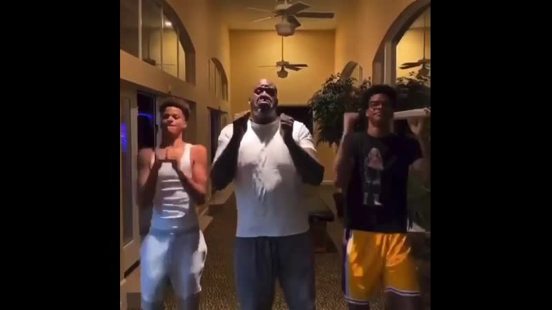 Shaq and his boys are back with another tiktok Did they kill it or nah