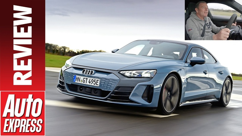 2021 Audi e tron GT review see how fast Audi's Tesla rival gets from 0 150mph