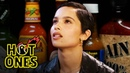 Zoë Kravitz Gets Trippy While Eating Spicy Wings Hot Ones