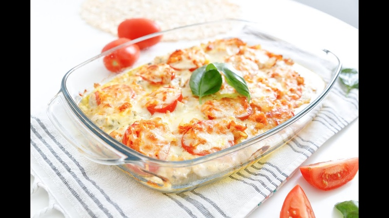 СОЧНОЕ КУРИНОЕ ФИЛЕ с жареным луком помидорами и сыром Невероятное сочетание вкусов