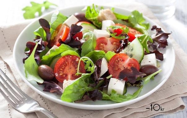Подборка салатов, от которых не поправляются